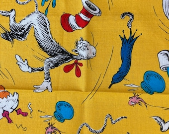 DIY Sewing Kit  4 Baby // Baby Blanket Kit w/ Basic Instructions to Design Your Own Baby Gift // No Toys // Seuss ((48))