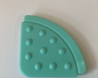 Aqua // 25 pc Wholesale TEETHING CORNER Lot // Handmade Baby // Toy Making // Baby Bibs Shower Gifts Blankets Baby Corner Teething