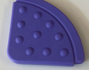 Purple // 25 pc Wholesale TEETHING CORNER Lot // Handmade Baby // Toy Making // Baby Bibs Shower Gifts Blankets Baby Corner Teething