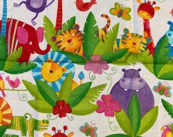 DIY Sewing Kit  4 Baby // Baby Blanket Kit w/ Basic Instructions to Design Your Own Baby Gift // Safari Smiles ((58))