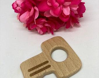 beech wood KEY shape <63>