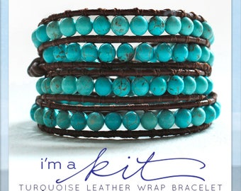Wrap Bracelet Kit Etsy