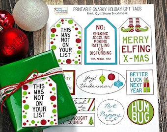 printable gift tags etsy