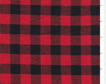 Buffalo Check Baby Crib Rail Guard- Red Black Buffalo Check, Lodge, Woodland