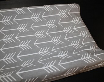 2 Day Ship - Arrow Contour Changing Pad Cover - Tribal, Baby, Western