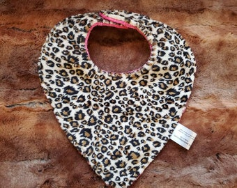 Baby Bibs - Floral, Buck, Cheetah, Serape Deluxe Minky backed bibs