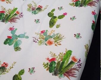 Cactus Contour Changing Pad Cover - cactus, flowers, western, aztec