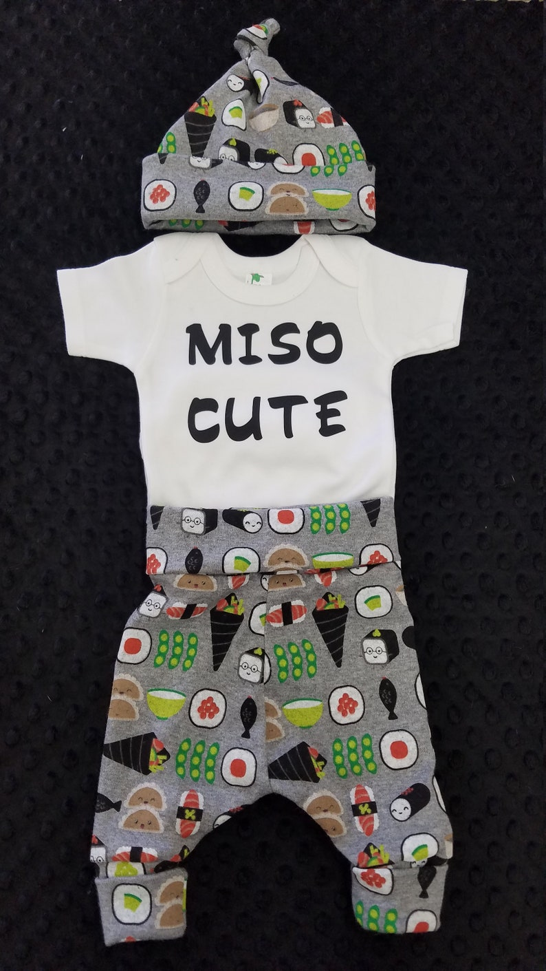 Going Home Outfit Miso Cute with Sushi Pants