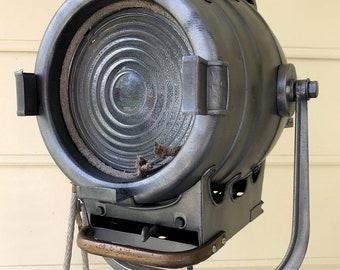Bardwell and McAlister 1940's Hollywood Movie  Keg Light: Repurposed Vintage Hollywood Movie Light