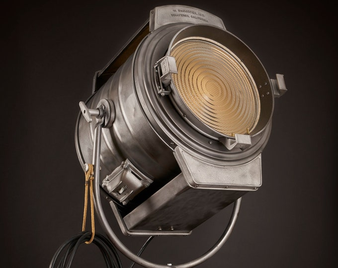 Featured listing image: 1940's J. G  McAlister Hollywood 5K Vintage Movie Light [Bigger is always better, but it is always Bigger]