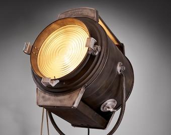1930's J. G  McAlister Hollywood 5K Vintage Movie Light: (wash light over a large area)