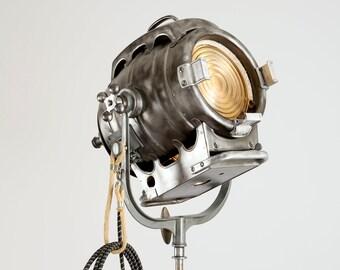 Bardwell and McAlister 1930's Hollywood Movie  Keg Light: Repurposed Vintage Hollywood Movie Light