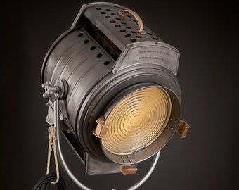 1940's Bardwell  McAlister Hollywood 10K Vintage Movie Light:   [gi·gan·tic]