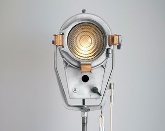 1970's Mole-Richardson Baby Junior 2K Fresnel type 4131 - Repurposed Vintage Hollywood Movie Light