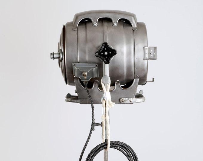 Featured listing image: Bardwell and McAlister 1950's Hollywood Movie Keg Light - Repurposed Vintage Hollywood Movie Light