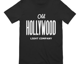 Old Hollywood Black T-shirt  design #3