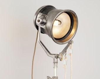 Mickey Mole 1 K circa 1970's - Repurposed Vintage Hollywood Movie Light