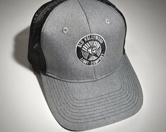 Embroidered JS Monogram Trucker Snap back Hat