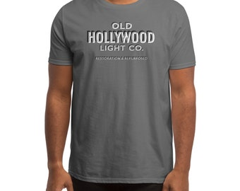 Old Hollywood Grey T-shirt  design #1
