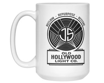 Official Mug of the Old Hollywood Light Company