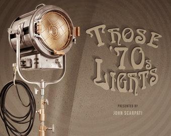 """1970's Mole Richardson412 2K Fresnel Tungsten Light, 10"""" Lens"""