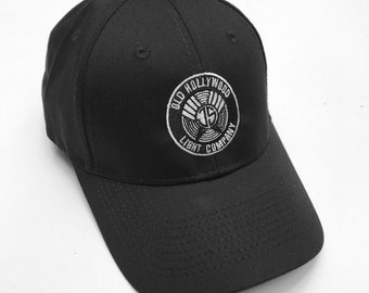 Embroidered JS Monogram Velcro Cap [Med/Small]