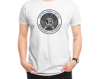 Old Hollywood White T-shirt  Monogram