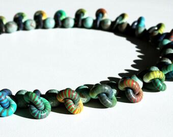 3f6cefbbb415 Collar Arcilla Polimérica bisutería artesanal joyería