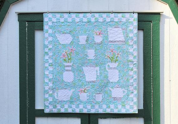 Christine S Kitchen Wallhanging Quilt