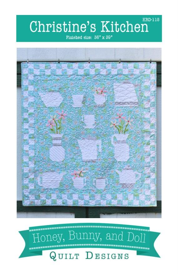Christine S Kitchen Pdf Quilt Pattern