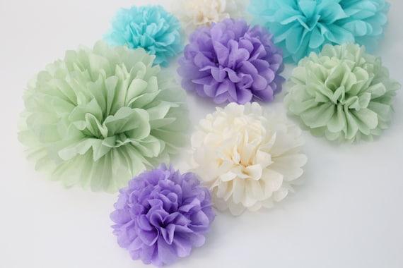 Wedding Centerpiece Kit 20 Paper Flowers Pick Your Colors