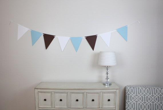 It's A Boy/ Baby Shower Decoration / Party Supply / Banner / Party Decor / High Chair Banner- 6 FEET LONG