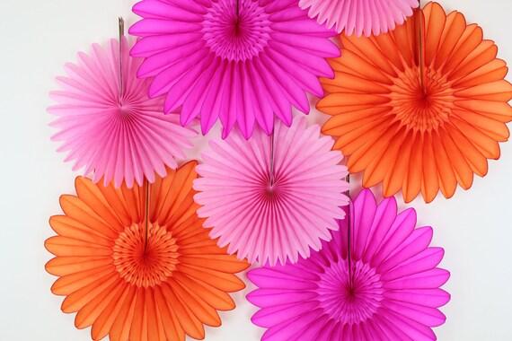 Wedding Decorations Tissue Paper Fan Flowers Weddings Etsy