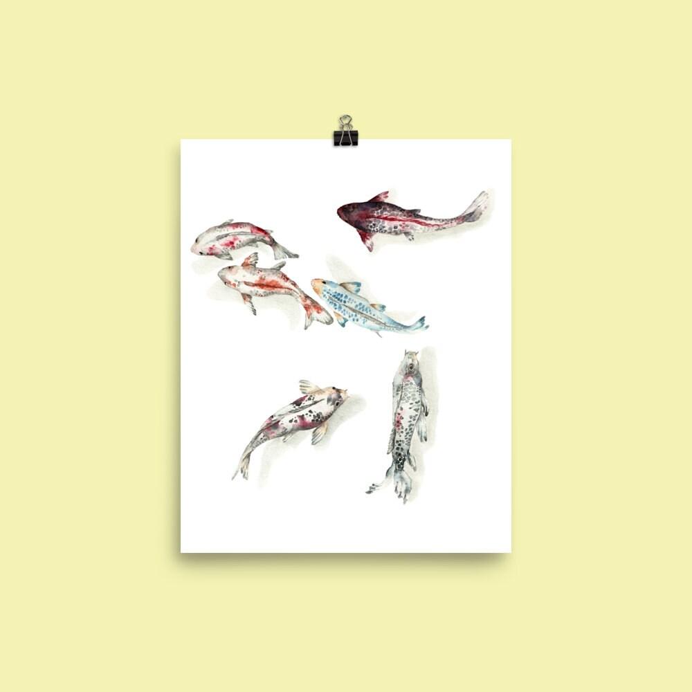Exelent Koi Fish Wall Decor Frieze - Wall Art Ideas - dochista.info