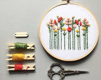 31bc770c68d6 Floral Embroidery PATTERN