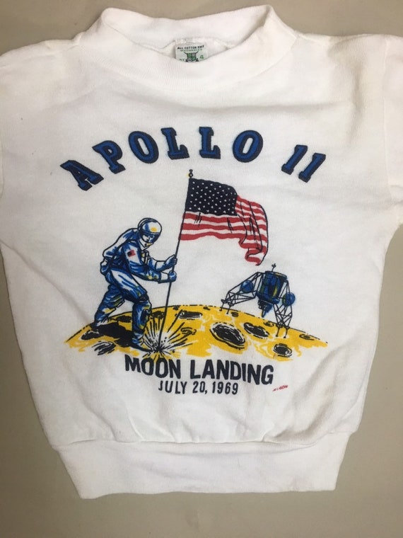 Vintage Children's Apollo 11 Moon Landing Sweatshirt