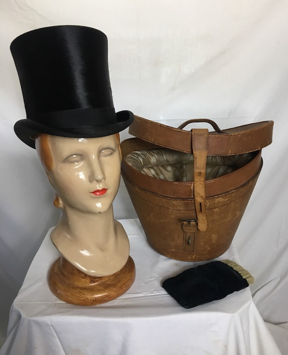 1900s Beaver Top Hat by Miller Geo W Marston San Diego