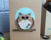 Fathers Day Owl Greeting ...