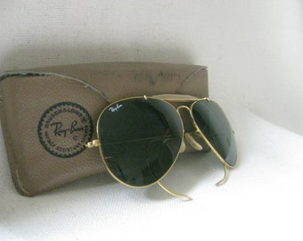 f1d462c3a0 Vintage RARE RAY BAN Sunglasses and Case