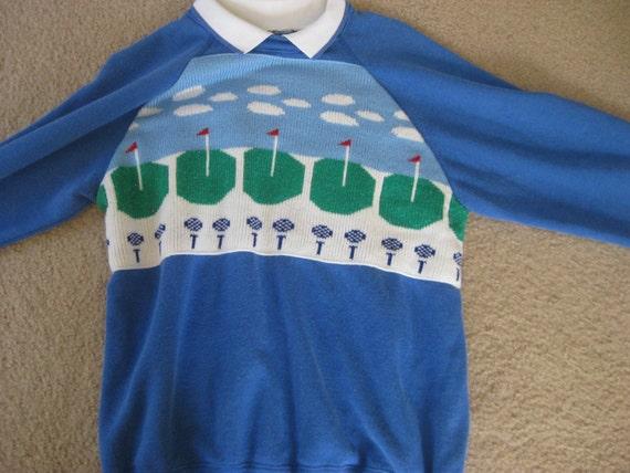 Vintage KITSCH GOLF Sweater
