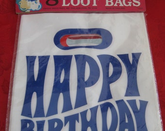 Vintage MOD Party Loot Bags