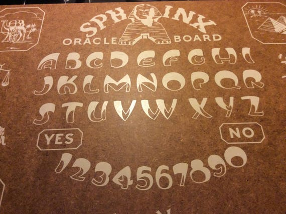 Vintage Rare Sphinx Oracle Board Ouija Board