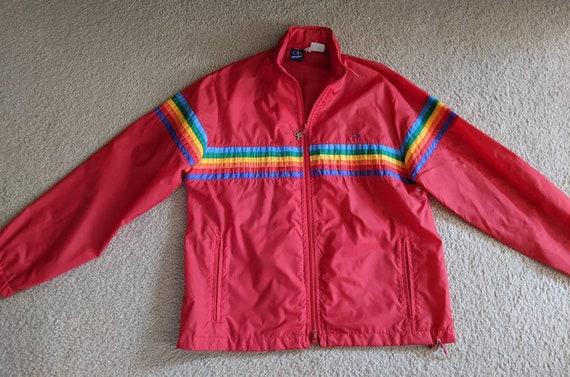 Vintage OP Rainbow Jacket