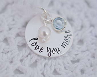 Personalized Wedding Bouquet Charm - Hand Stamped - Bridal Bouquet Charm Wedding Bouquet - Bouquet Accessories