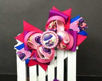 Little Charmer's  Hair Bow ~ Cute bow for babies, toddlers and big girls ~ Bow measures approximately 5.5 inches