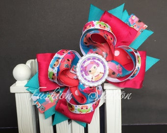 Lalaloopsy Cute bow for babies, toddlers and big girls ~ Bow measures approximately 5.5 inches