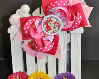 Cute bow for babies, toddlers and big girls ~ Bow measures approximately 5.5 inches