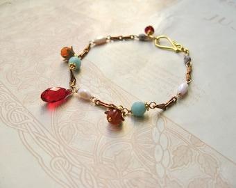 Meadow / Augusta charm bracelet