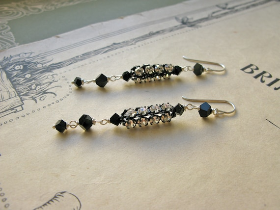 Deco Crystal earrings...