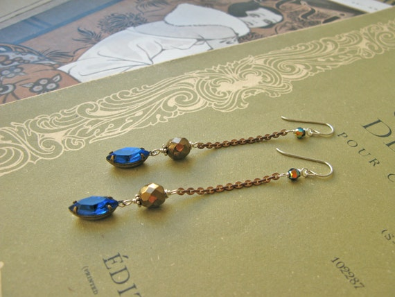 Mitzi Nefertiti earrings...